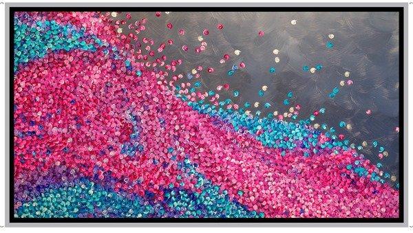 QT - Artworks XIX - Confetti Border Panel/Multi - 28475-X  - N24