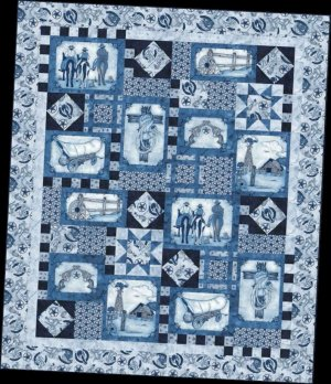 Blank Quilting FREE Western Denim Project Sheet