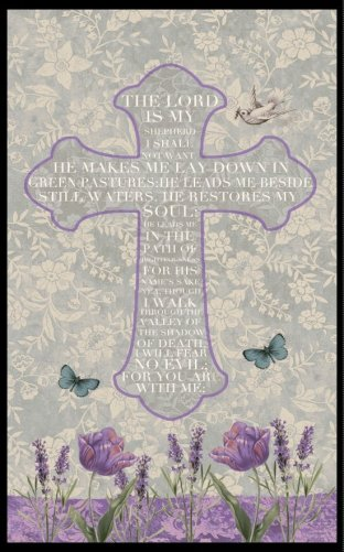 walk by faith panel, blank quilting