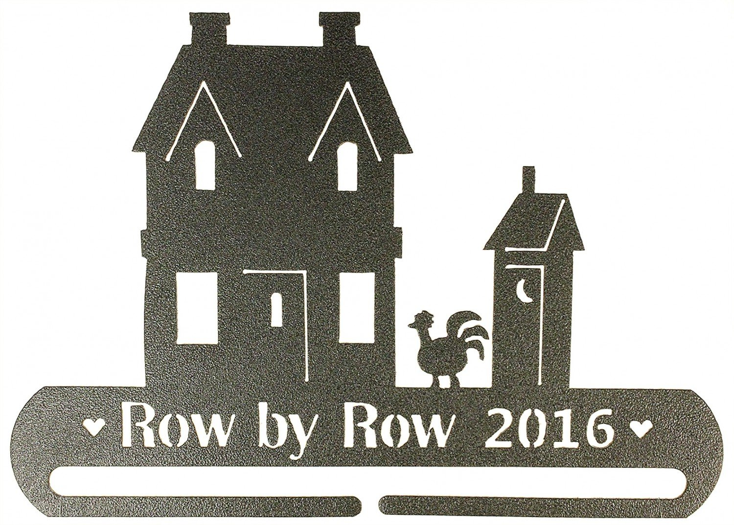 Row by Row Experience 9in 2016 Split Bottom Ackfield Hanger
