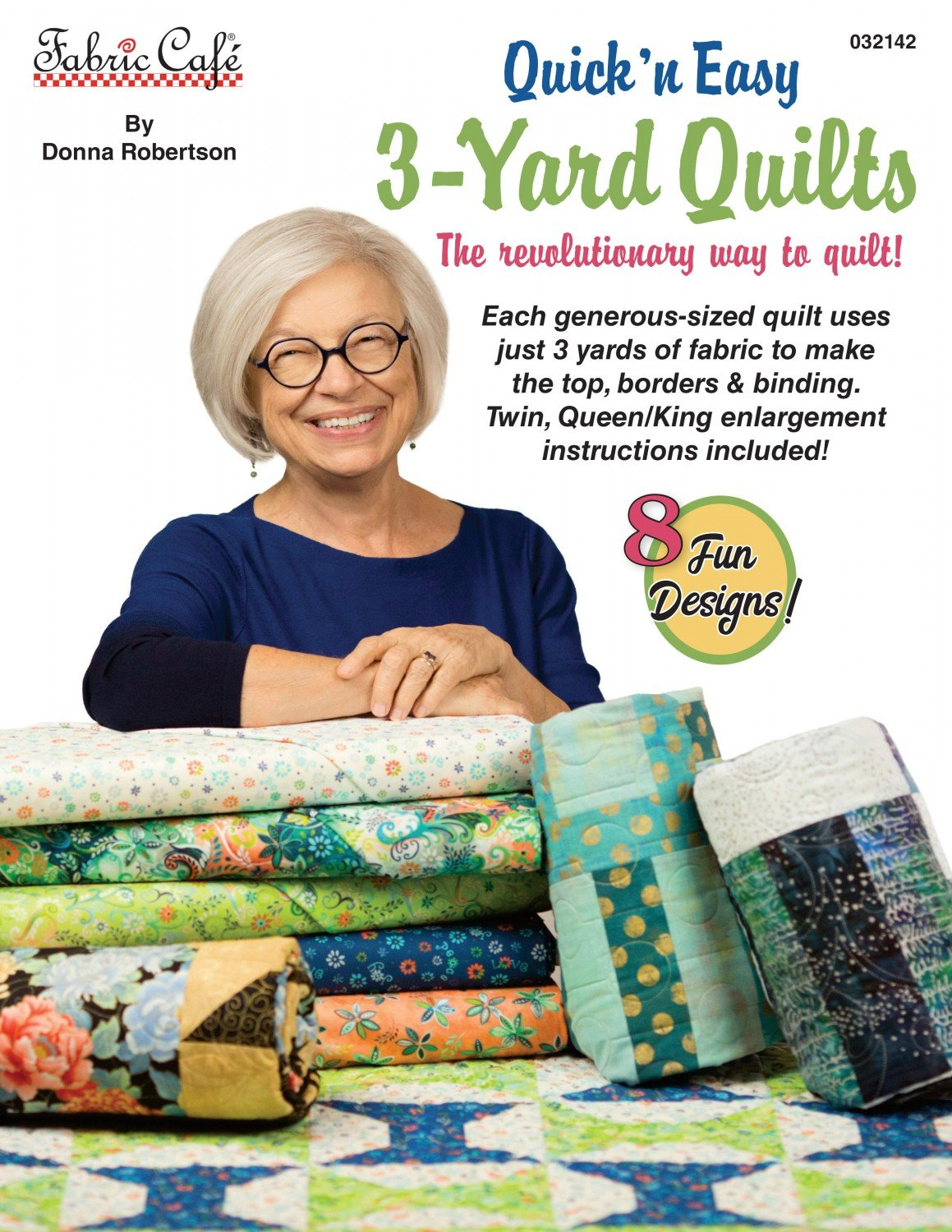 3 Yard Book - Quick'n Easy - Fabric Cafe - 032142-6