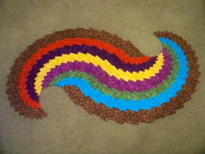 Spicy Spiral Table Runners