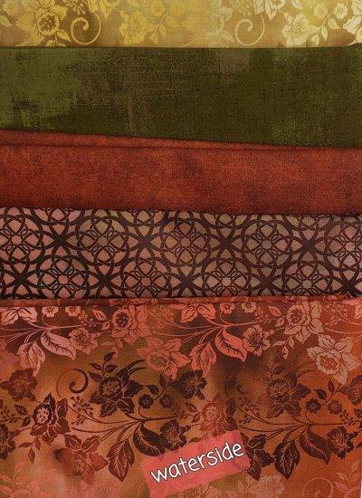 waterside villa rosa quilt kit