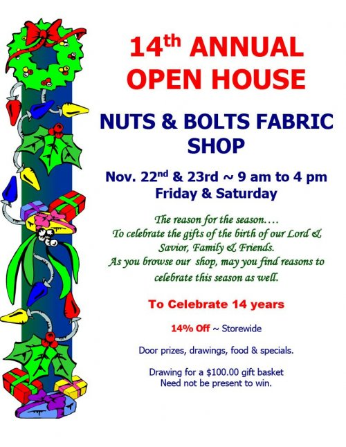 14th Annual Open House