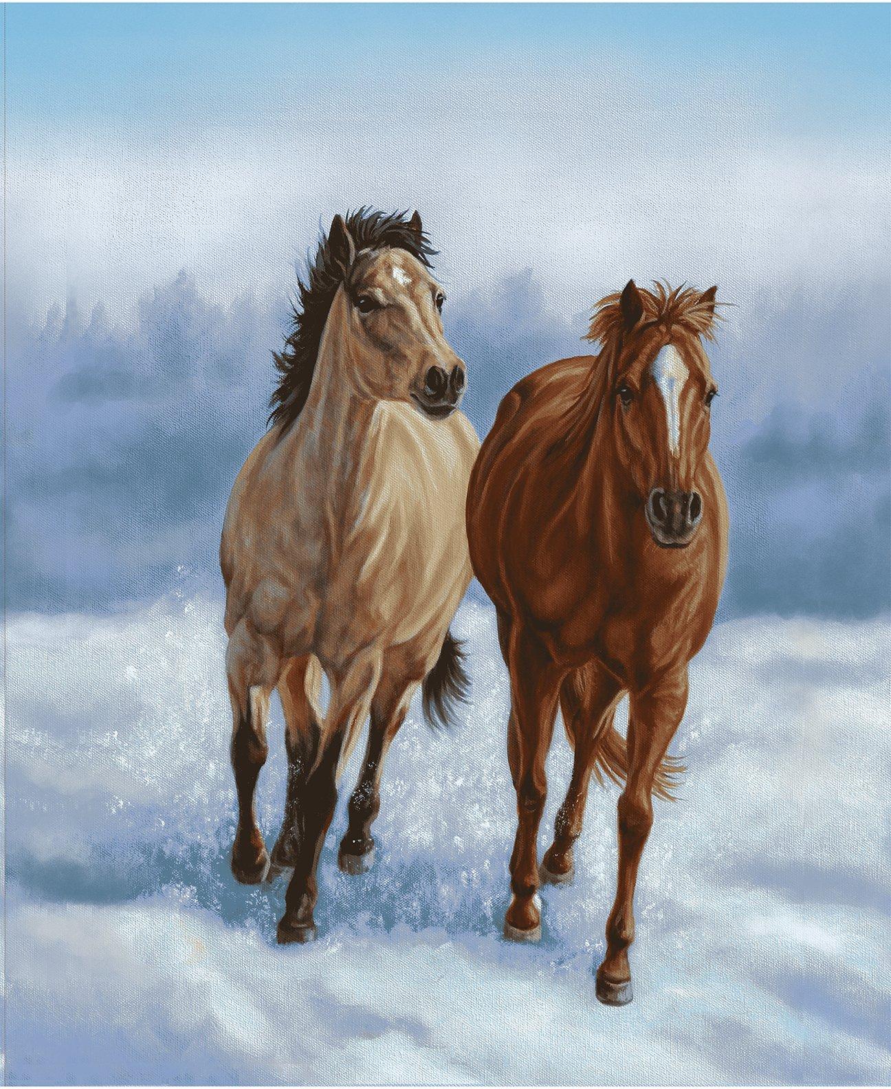 StudioE - Horse Whisper -  Running Horses-Panel -  5686P13 - W-19