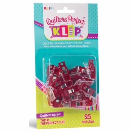 Perfect Klip 25ct Red - KLIPit - 03299
