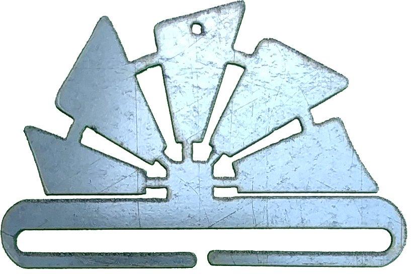 Windmill 6 Hanger-Galvanized - Ackfeld - 36396