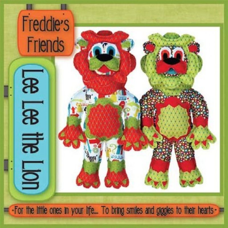 Lee Lee the Lion-Freddies Friends-FF104LL