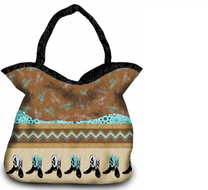 Quilting Treasures-Cowgirl Up Bag/Purse - Project Sheet