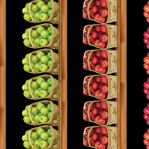 Kanvas Studio - Apple Gala-Apple Stripe/Black - 0885212B
