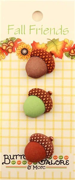 Acorns - Buttons Galore - A127