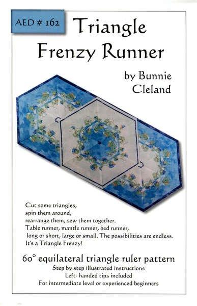 Triangle Frenzy Runner - Bunnie Cleland - AED162