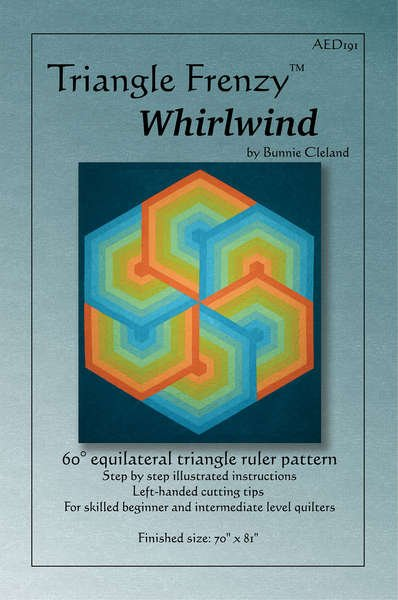 Triangle Frenzy Whirlwind - Bunnie Cleland - AED191