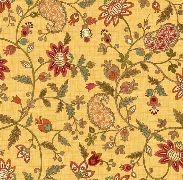 StudioE - Autumn Elegance-Yellow/Floral - 2280-33