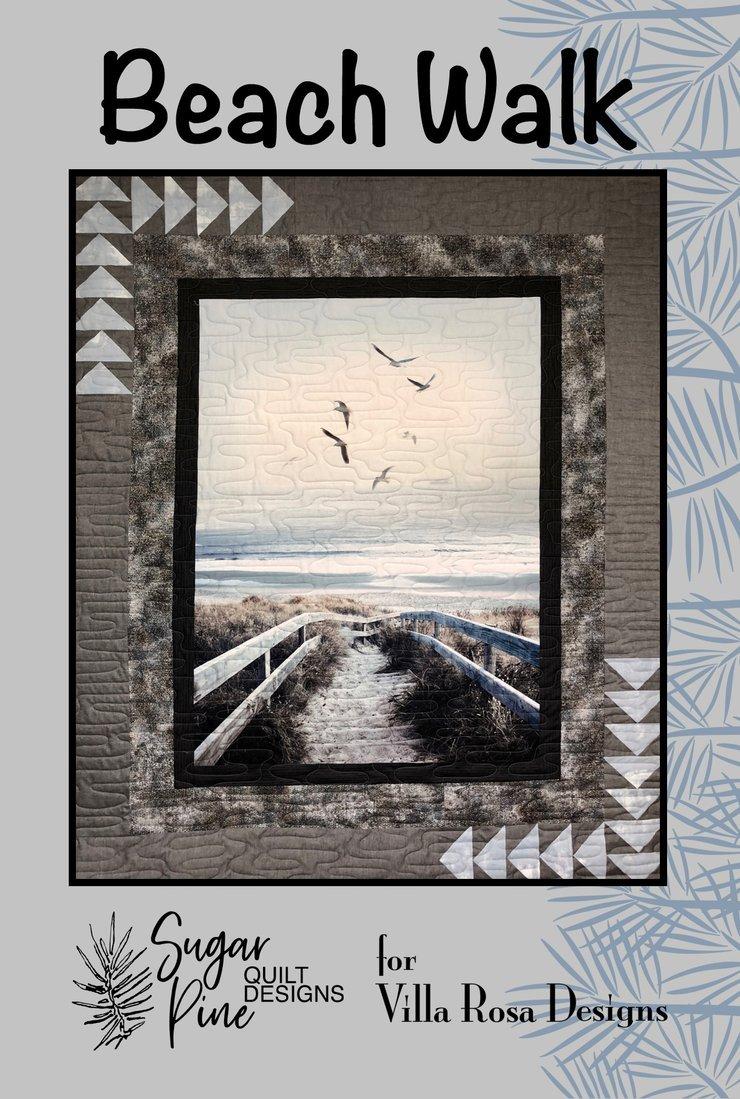 Beach Walk - Villa Rosa - Panel Friendly - 56 x 68