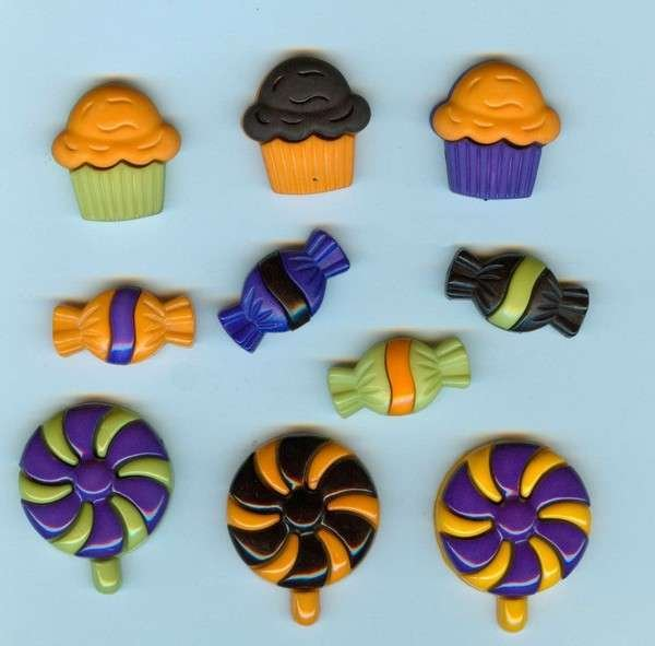 Halloween Treats- Halloween Collection - Dress It Up - 4529