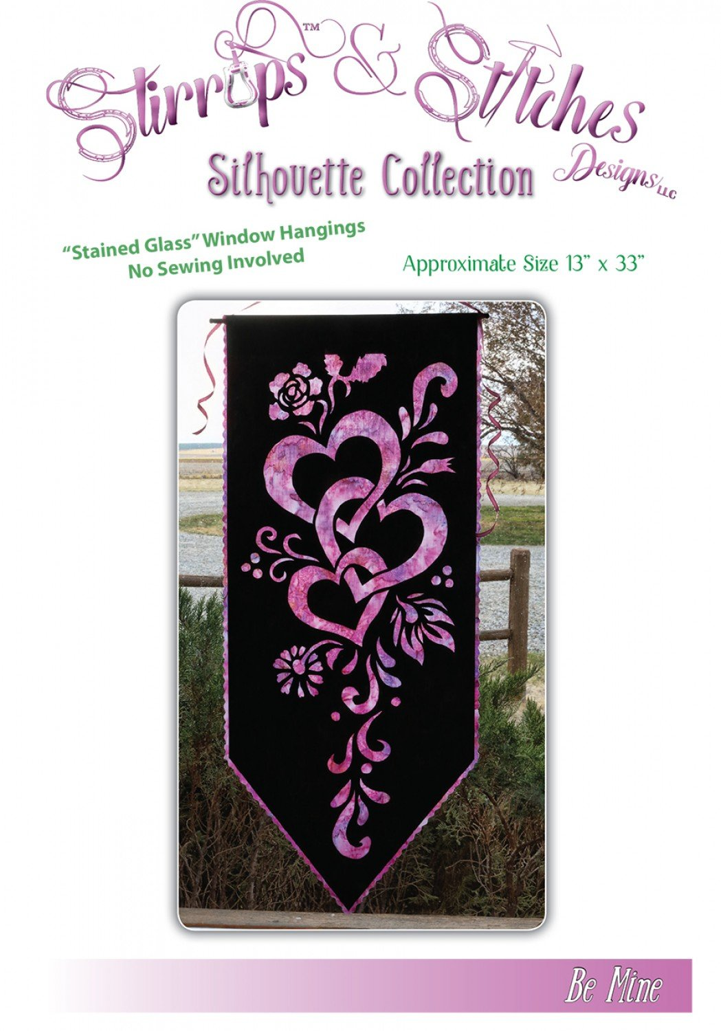 Be Mine Pattern - Stirrups & Stitches Designs - BM-2017