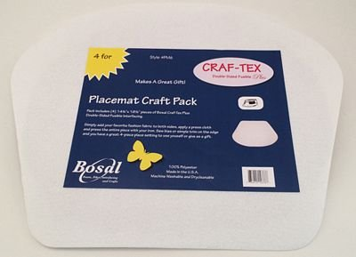 Placemat Craft Pack 14-1/4in x 18-1/2in Cupcake 4pk - Bosal - PM6