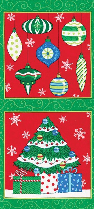 Chenille Christmas Hot Pad or Wall Hanging  KIT - Wreath or Tree