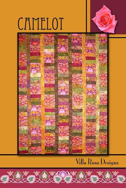 Camelot - Villa Rosa - 54x72 - 2 1/2 Strips