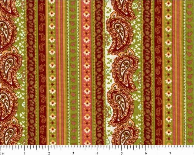 Choice Fabrics - Perfectly Paisley - 17692-005