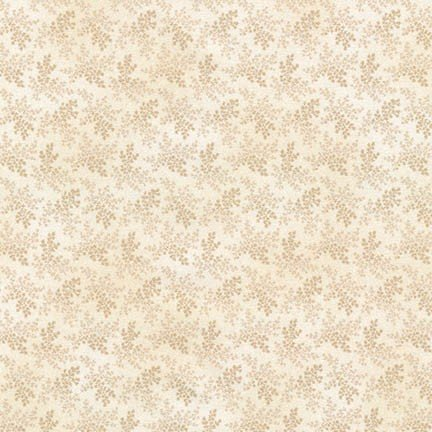 Robert Kaufman -  Wide Quilt Backing-108in - Charlotte c. 1860/Ivory - 18130-15