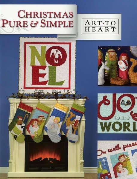 Christmas Pure & Simple - Art to Heart - 551B - SALE
