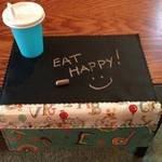 Eat Happy! Placemat -Cut Loose-CLPRFI013