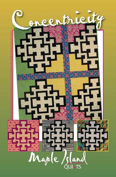 Concentricity - Maple Island Quilts - MIQ 513