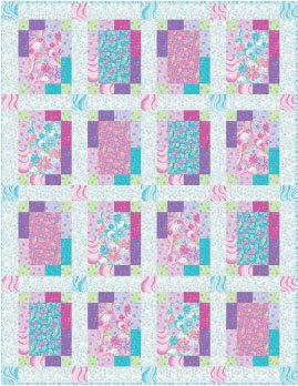 StudioE - Cotton Candy Quilt-FREE Project Dowload