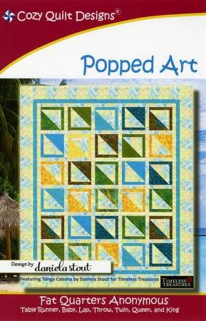 Popped Art - Cozy Quilt Designs - CQD01119
