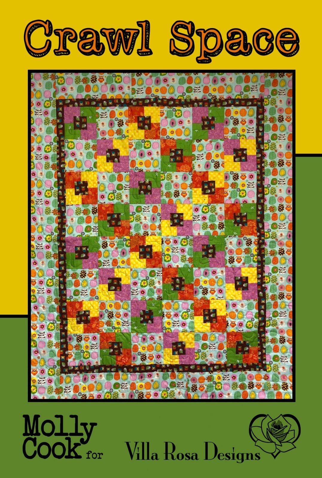 CRAWL SPACE - Villa Rosa - 36x48 (48x60with borders) - Theme