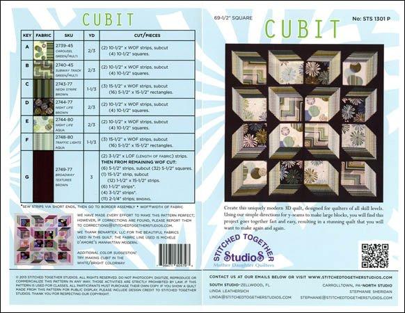 Cubit-Stitched Together Studio-STS 1301 P