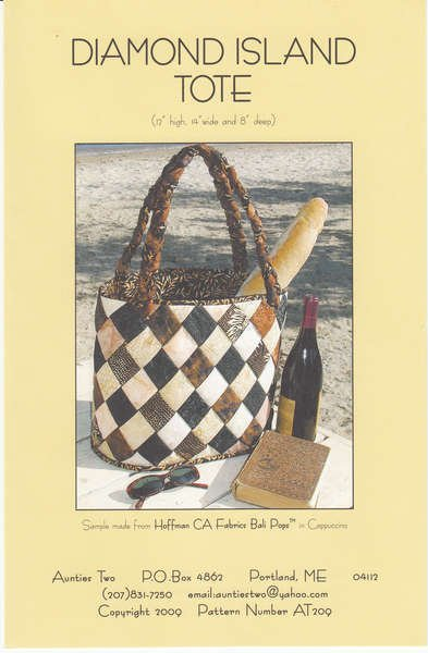 Diamond Island Tote - Aunties Two - 04112