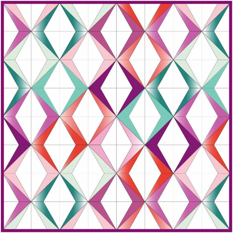 American Quilt Retailer - Diamonds Are Forever