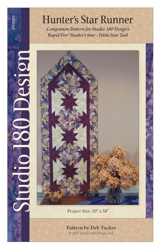 Hunter's Star Pointed Table Runner - Studio 180 - DTP002