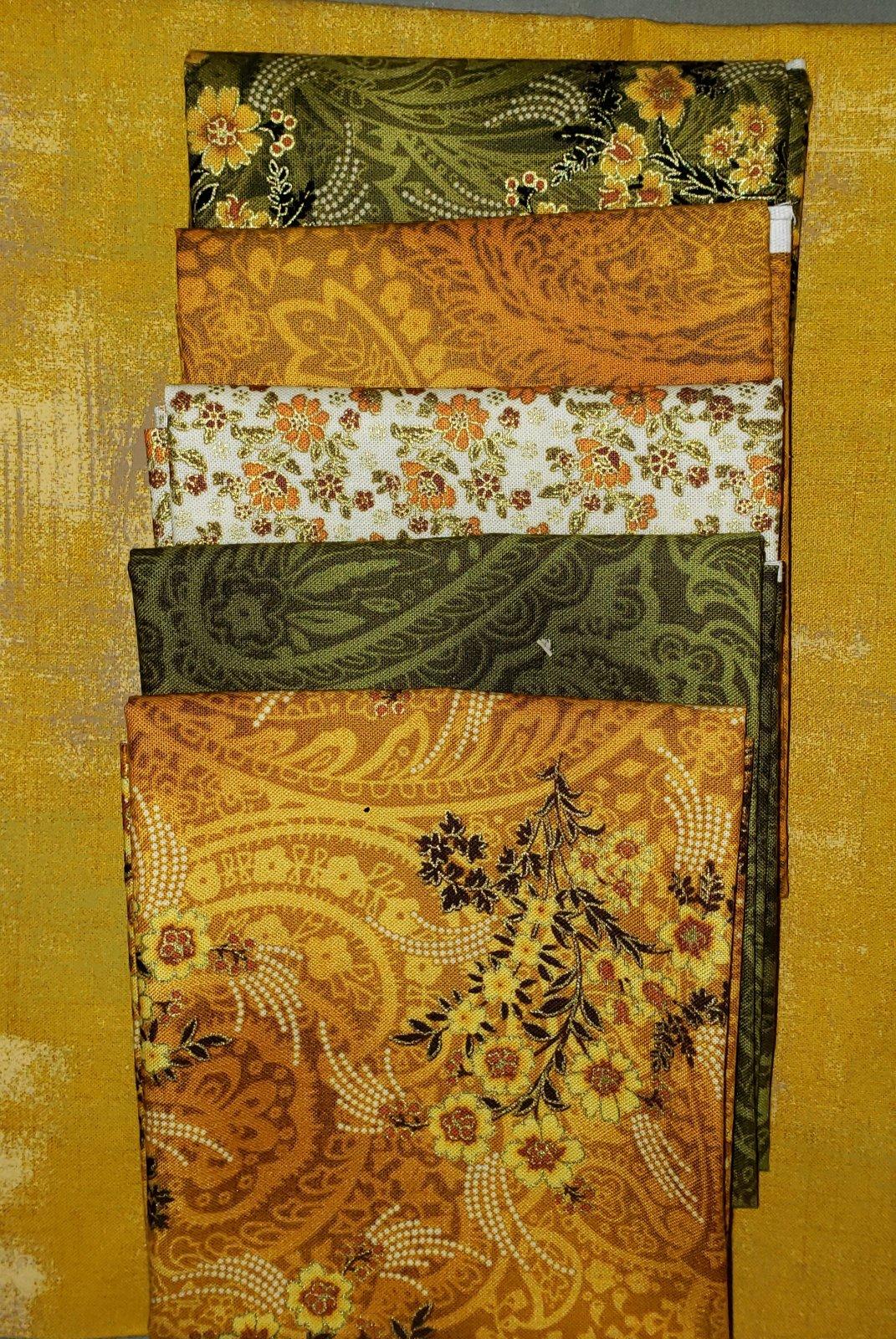 Dulcie - Villa Rosa QUILT KIT - Kanvas-Radiance/Fall - 41 x 57
