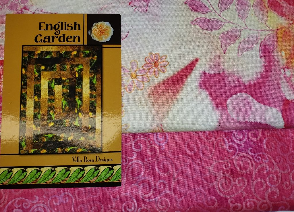 English Garden Quilt KIT/Pink - Villa Rosa - 54 x 72
