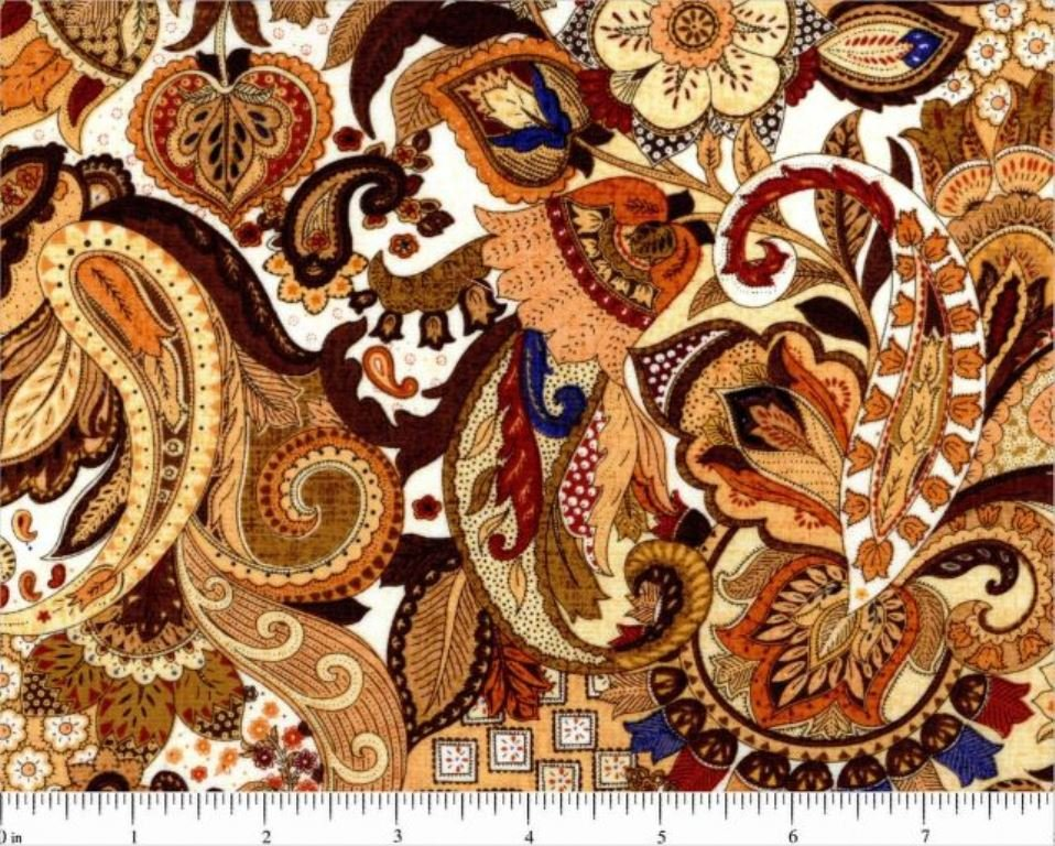 Fabri-Quilt - Royal Paisley - 112-27051