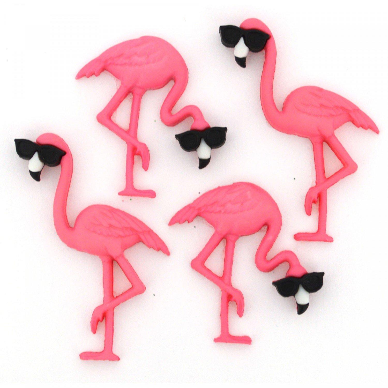 Think Pink Flamingo - Dress It Up - JBT-10407