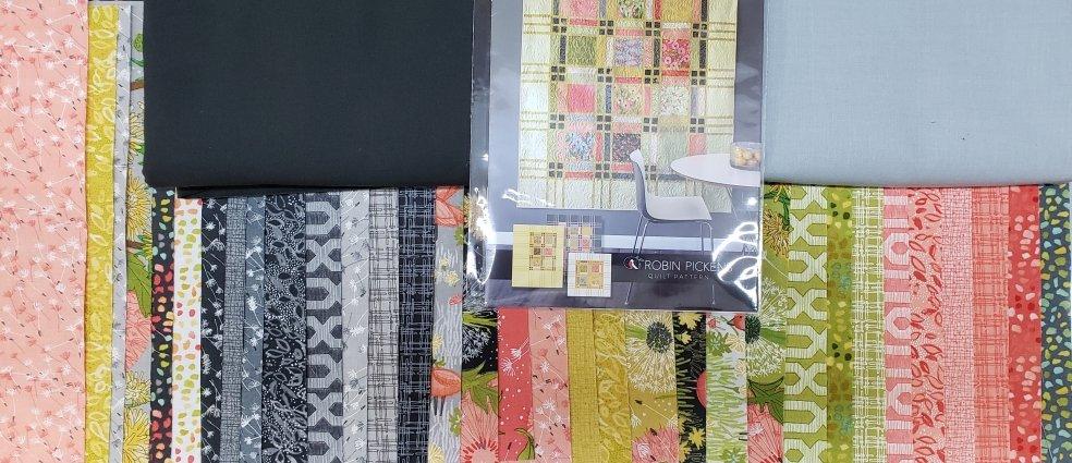 Fringe - Dandi Annie-Moda - Quilt KIT - 69 x 84 (Gray)