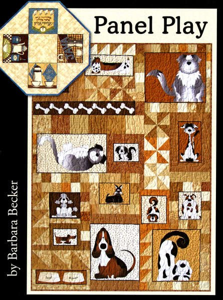 Panel Play - From Four Paws Quilting - FRP-200