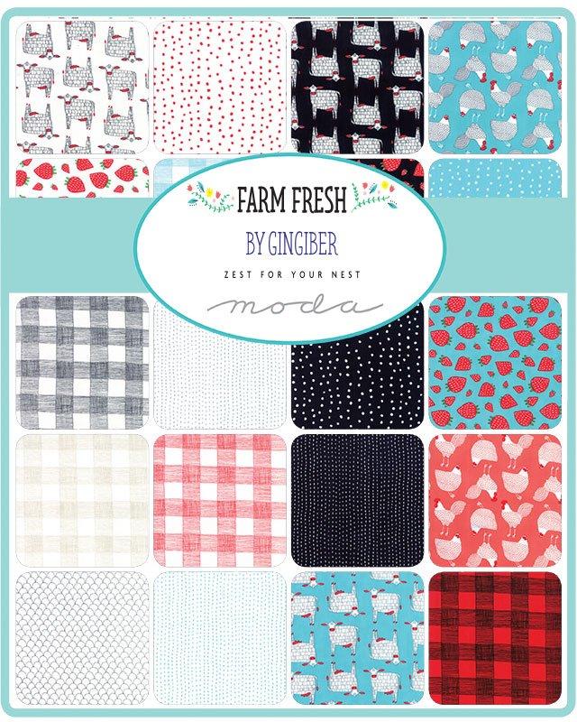 Good Company - Villa Rosa QUILT KIT - Moda Farm Fresh - 51 x 51