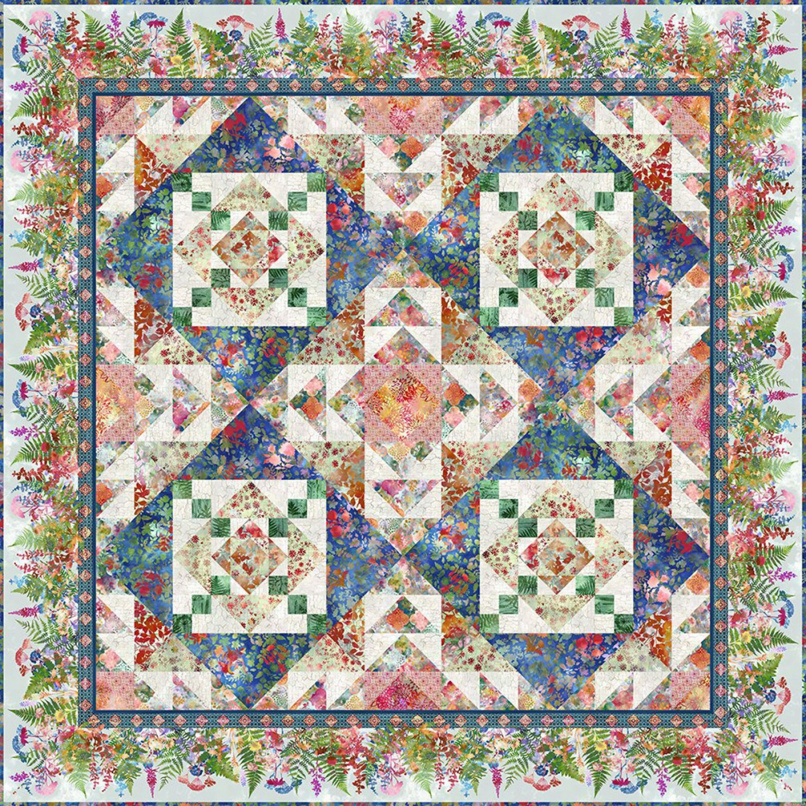 Harmonious Quilt Pattern - In The Beginning/Jason Yenter -  HVN-H