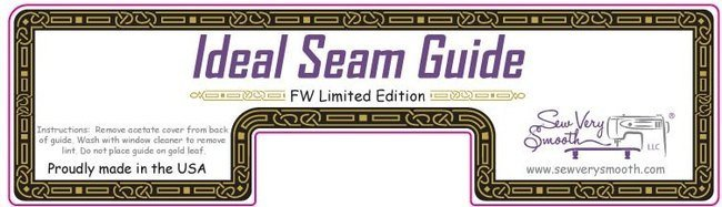 Ideal Seam Guide 5 - Featherweight Limited Edition - Sew Very Smooth - ISG-FW