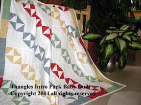 Intro Pack-Baby Quilt/Table Runner/Project Pack - Thangles