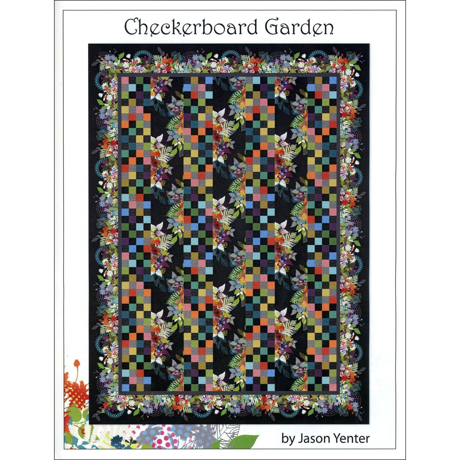 Checkerboard Garden Pattern - Jason Yenter - ITBUG1P