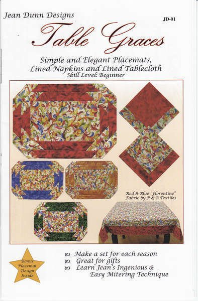 Table Graces-Jean Dunn-Quilt Woman - JD01