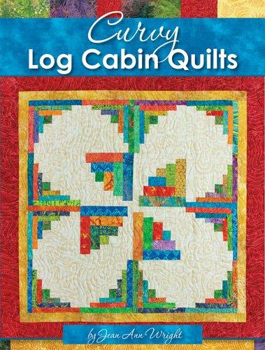Curvy Log Cabin Quilts - Jean Ann Wright - 51895