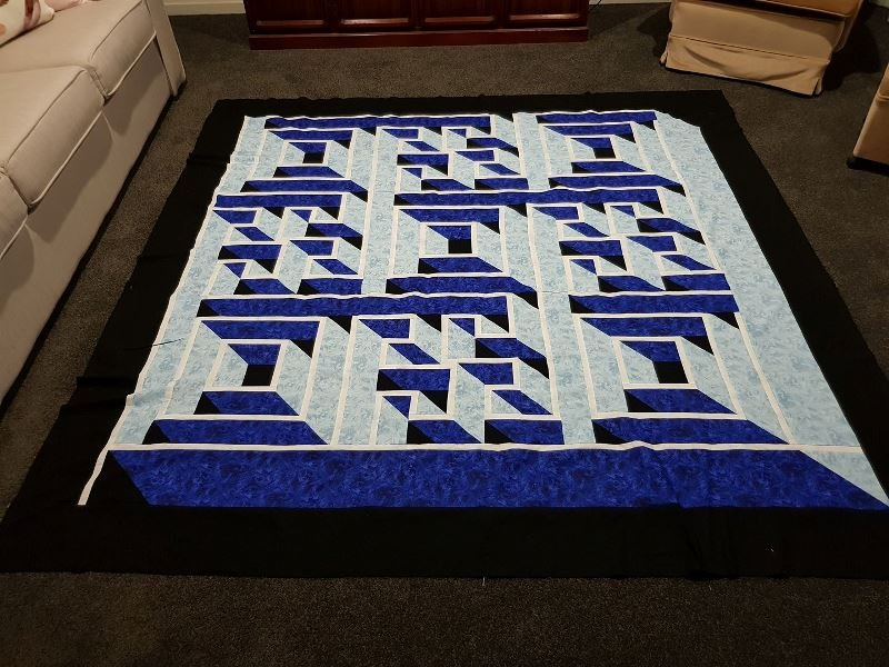 Labyrinth Walk The Guilty Quilter Gqu02 714329645650